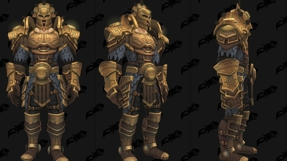 Here's Battle for Azeroth's Uldir raid armour, which is not class-specific