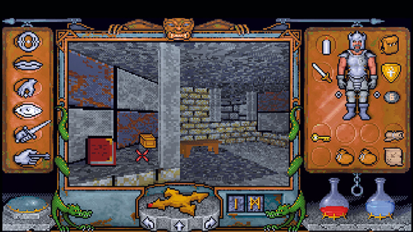 Ultima Underworld: The Stygian Abyss. Cutting edge in 1992.