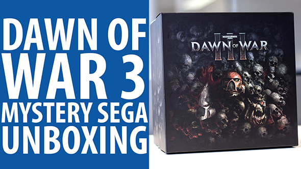 Dawn of War III unboxing