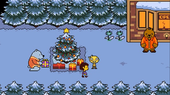 Undertale Christmas.The Greatest Christmas Ranges In Gaming