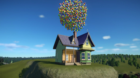 up pixar house