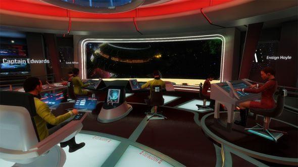 Upcoming PC games Star Trek: Bridge Crew