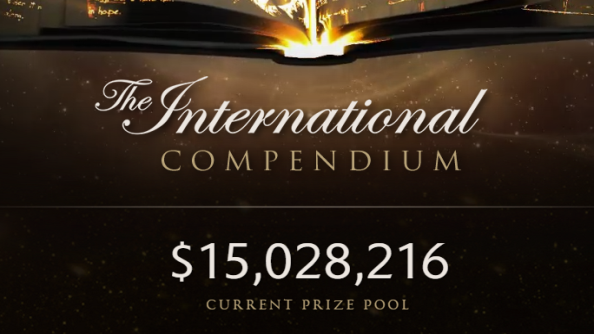 Dota 2 International 2015 prize pool achieves $15 million dollars; Axe immortal and comic unlocked