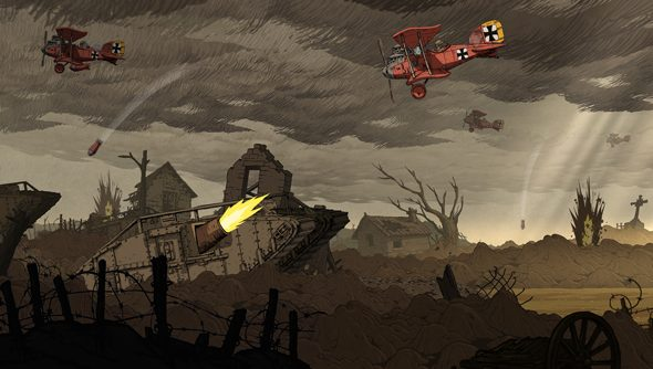 Valiant Hearts: miserable, but funny with it. Really.