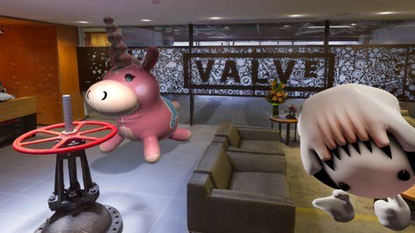 Valve office in VR