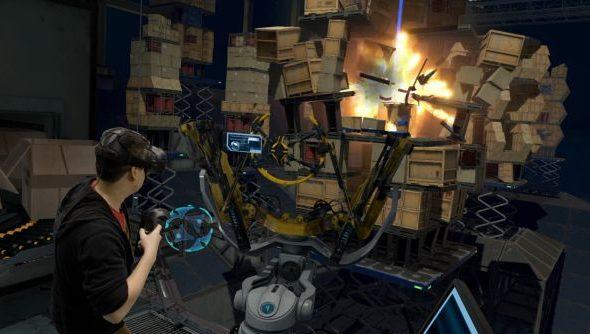 Valve VR team