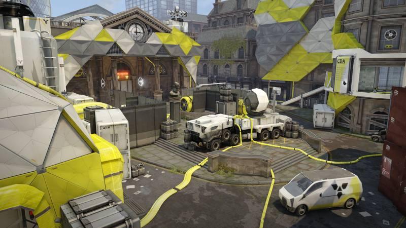 dirty bomb update vault map