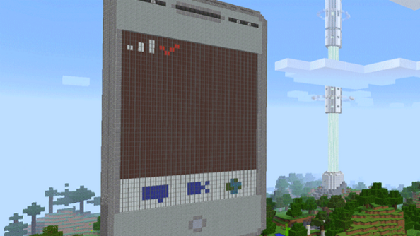 You can now order a pizza in Minecraft, just like you've always wanted