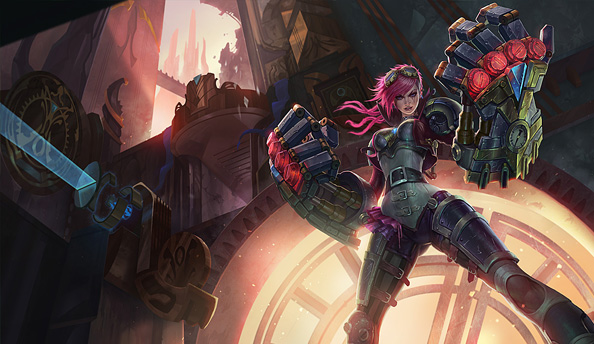 League of Legends Champion Spotlight: Vi, the Piltover Enforcer