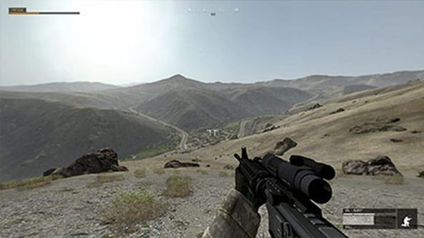 Bohemia's US Army training game will have you trekking over 2000km multi-map environments
