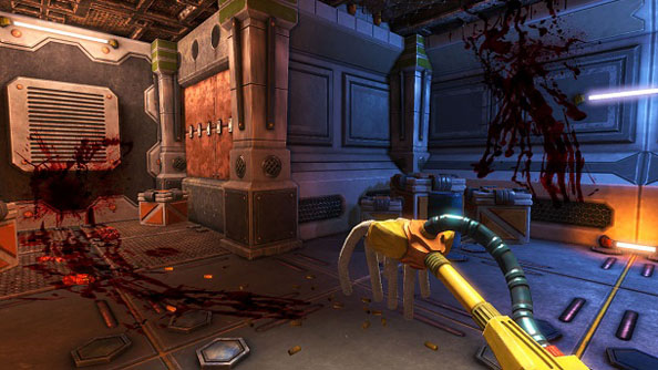 Must have own mop: report to generic FPS corridor #4 for Viscera Cleanup Detail co-op