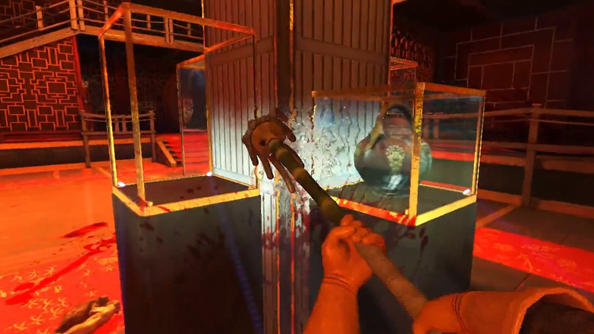 Viscera Cleanup Detail: Shadow Warrior arms you with mop and bucket to take on bloody stains with a vengeance