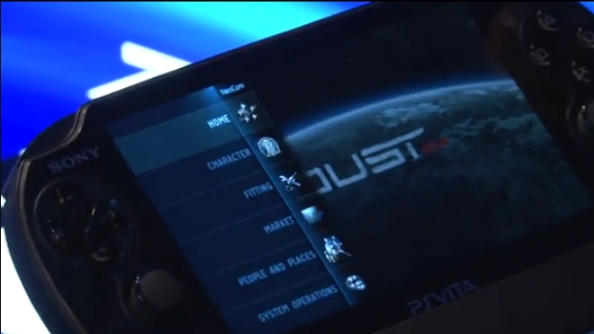 The Dust 514 Vita Neocom app - is this a testbed for Eve mobile?