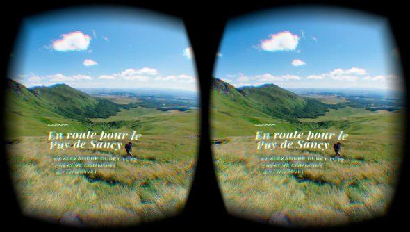 VR typography Mozilla VR