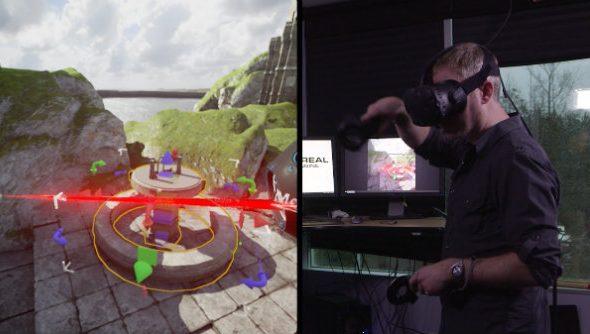 Unreal 4 VR editor