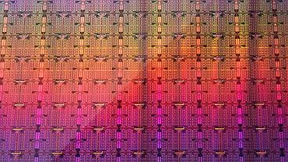 Intel wafers