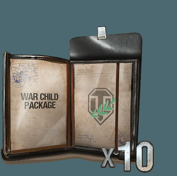 The World of Tanks War Child package