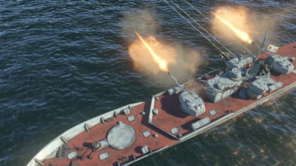 War Thunder big ships