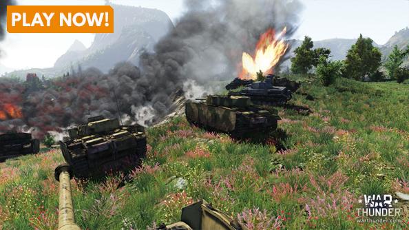 Best simulation games War Thunder