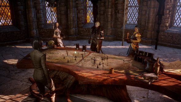 Dragon Age: Inquisition war council