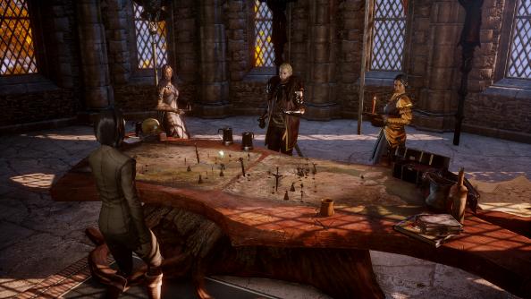 Dragon Age: Inquisition war council