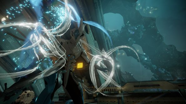 Warframe Echoes of the Sentient update brings new wall-running, sleek robot suits
