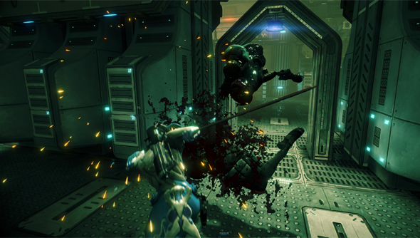 Warframe: lots of goring, but a bit boring.