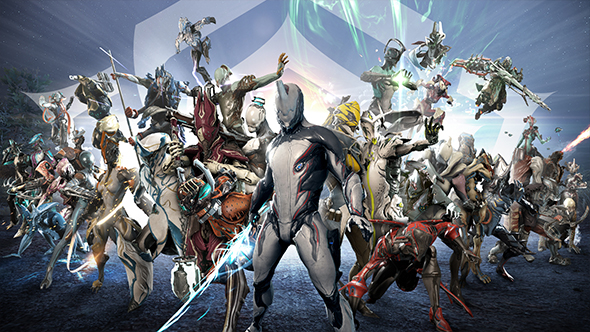 warframe fifth anniversary registered users