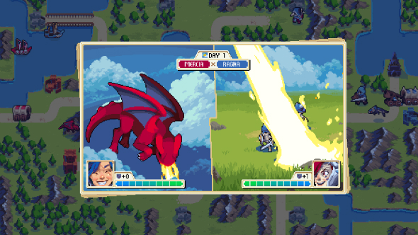 Starbound devs reveal Wargroove, a turn-based tactical game inspired by Advance Wars