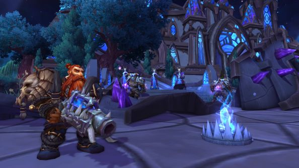 "Warlords of Draenor group finder will allow WoW players to ""actually meet new people"""