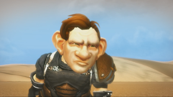 This gnome is not a Warlord of Draenor. Not yet, at any rate.