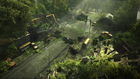Wasteland 2: where cars have... legs? Are those legs? Crikey.