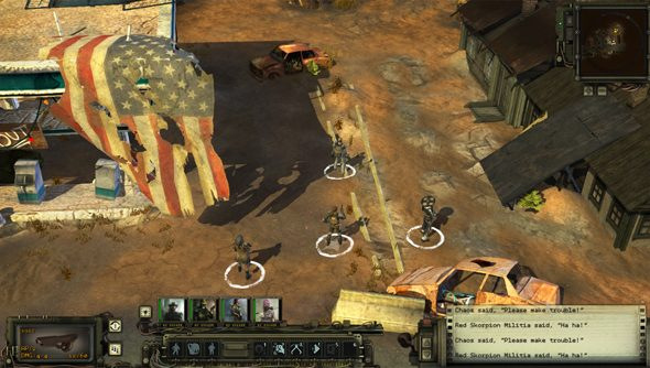 Wasteland 2: irradiated desert escapades enabled by Steam Early Access.
