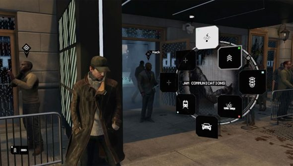 Specs on the magic phone Watch Dogs protagonist Aiden wields have yet to be released.