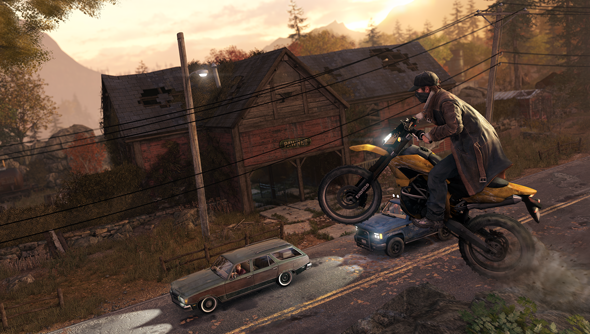 Watch Dogs: about bikes, as well as phones.