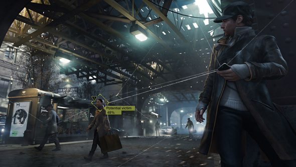 Watch Dogs is set in a future Chicago where phones are weapons (and not blunt ones).