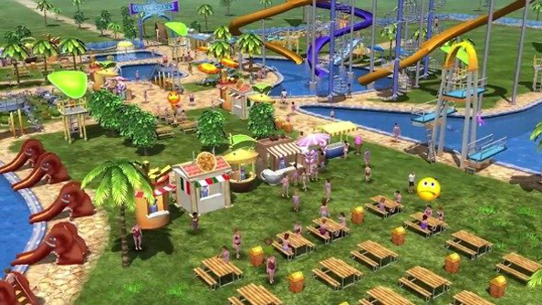What the Farming Simulator lot did next: Water Park Tycoon