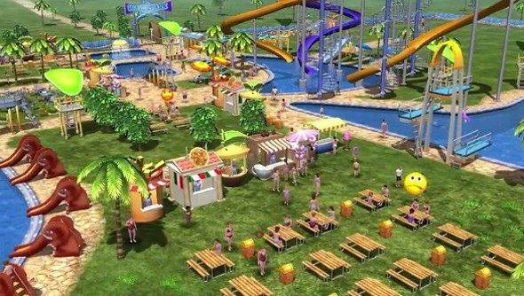 Water Park Tycoon: like that Rollercoaster Tycoon 3 expansion, but... no, exactly like that.