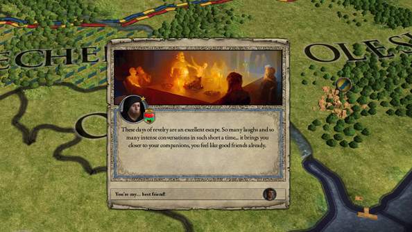 Crusader Kings II: Way of Life will let you break up with your medieval lover on December 16th