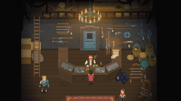 Wayward Tide: Starbound developer Chucklefish's next game is a co-op swashbuckler