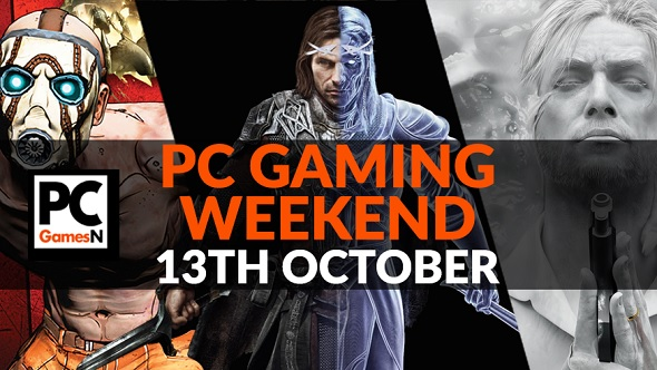 Your PC gaming weekend: play The Evil Within 2, mod Total War: Warhammer 2, get Borderlands cheap, and more!