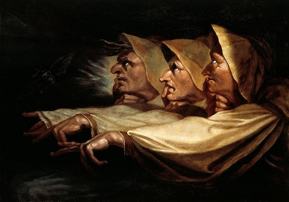 The Weird Sisters, Henry Fuseli