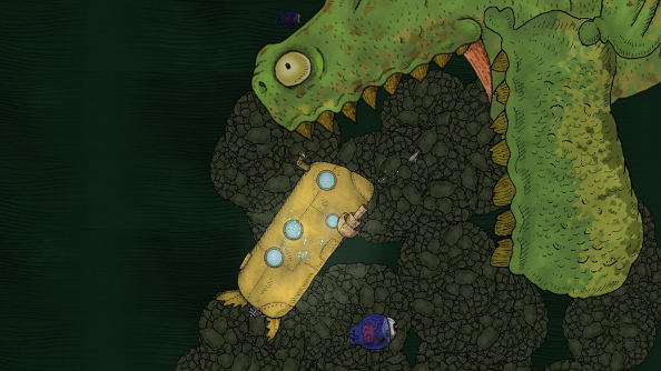 We all live in a roguelike: We Need to Go Deeper is what Jules Verne would play