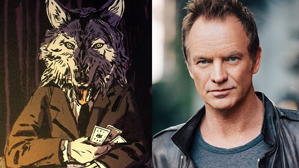 where the water tastes like wine voice cast sting