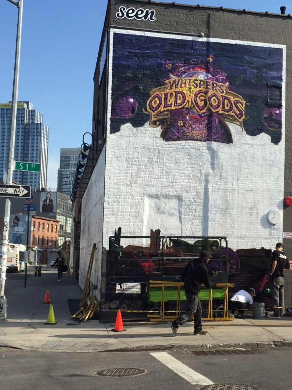 Whispers of the Old Gods mural 2