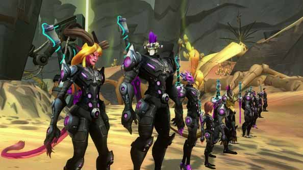 A new set of development stars at Carbine will fill the role of Gaffney on Wildstar.
