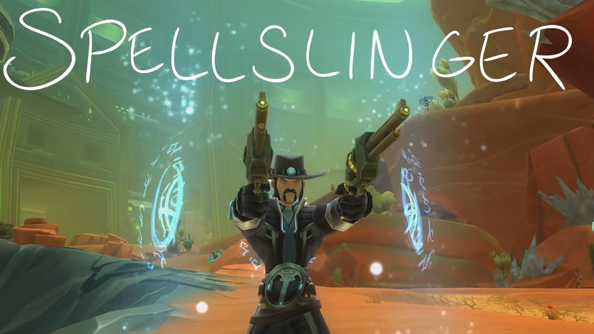 "Witness Wildstar's Spellslinger: ""the Nightcrawler in a cowboy hat"""