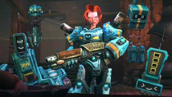 The engineer is both DPS and tank in Wildstar, rendering them especially useful in a raid.