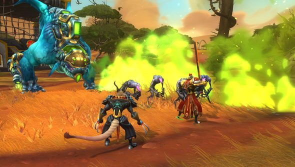 We're streaming Wildstar on Twitch.