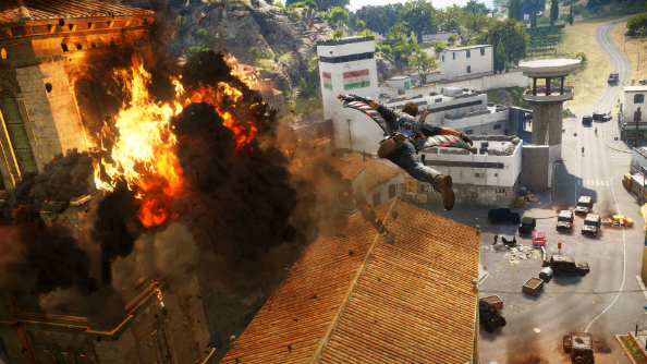 This new Just Cause 3 dev diary is all about the destruction